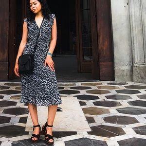 Lucky Brand Floral Print Midi Dress